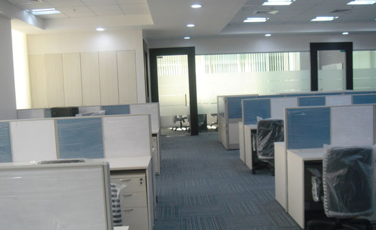 software company office. Staff Area Software Company Office H